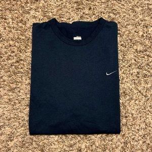 Vintage Nike Fit Dry Dri Fit Blue Grey T Shirt